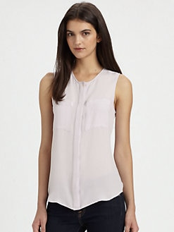 Theory - Eriel Silk Blouse