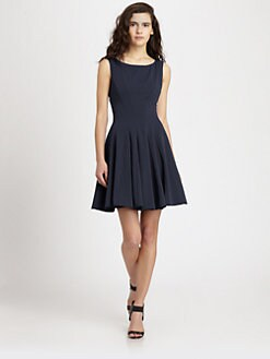 Theory - Kaien Fit-And-Flare Dress