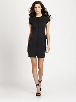 Theory - Teena Peplum Dress