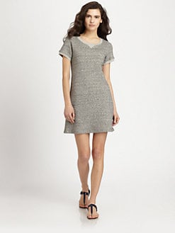 Theory - Teju Heathered Dress