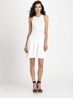 Theory - Chloh Pleated Dress