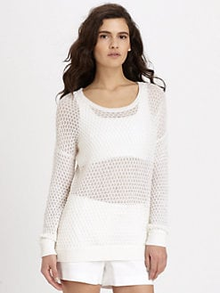 Theory - Tollie Honeycomb Sweater