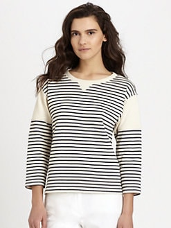 Theory - Sotiya Striped Shirt