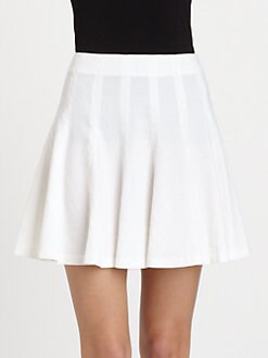 Theory - Eliza Pleated Skirt