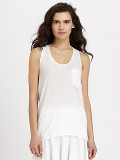 Theory - Vonria Draped Tank Top