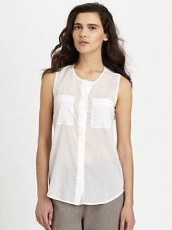 Theory - Eriel Semi-Sheer Shirt