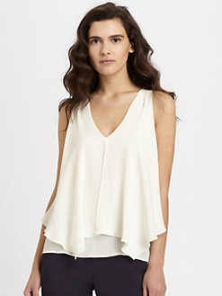 Theory - Jantine Silk Blouse