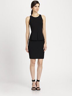 Theory - Feffe Rialto Peplum Dress