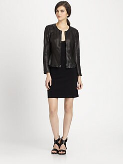 Theory - Jondi Ford Leather Jacket