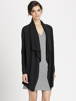 Theory - Maritza Preen Wool Cardigan