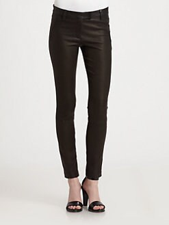 Theory - Masia Danish Leather Pants