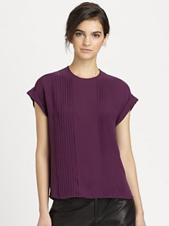 Theory - Sellida Silk Blouse