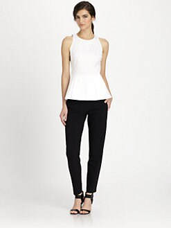 Theory - Fif Luxe Peplum Top