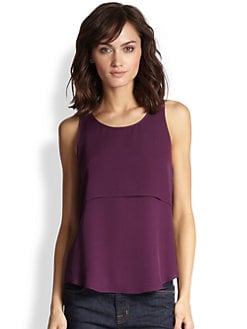 Theory - Sondray Silk Top