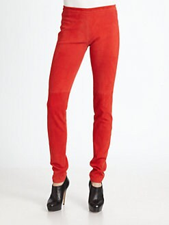 Theory - Ima Suede Leggings