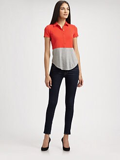 Theory - Ojaylin Colorblock Top