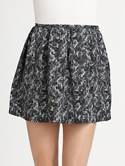 Theory - Lilory Silk Skirt