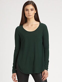 Theory - Olma Side-Slit Sweater