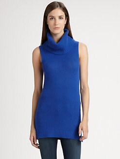 Theory - Chantal Sleeveless Cashmere Sweater
