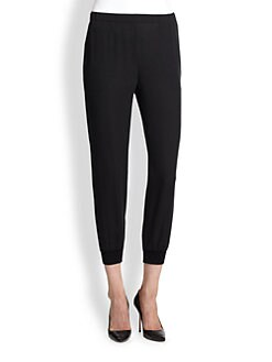 Theory - Arai Silk Double Georgette Pants