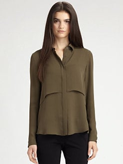Theory - Rosita Silk Top