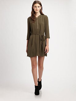 Theory - Ivona Silk Dress