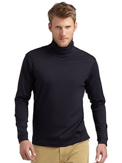 GRAY Saks Fifth Avenue - Cotton Turtleneck