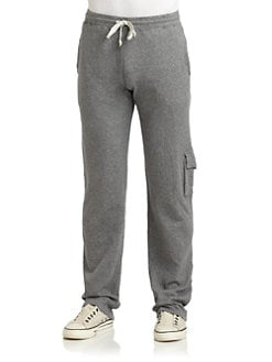 GRAY Saks Fifth Avenue - Cotton Jersey Cargo Pants