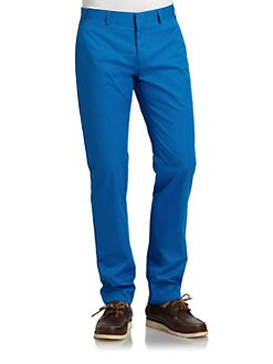 RED Saks Fifth Avenue - Slim-Fit Cotton Pants