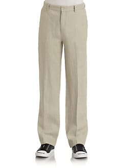 BLUE Saks Fifth Avenue - Linen Casual Pants