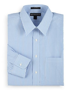 BLACK Saks Fifth Avenue - Gingham Check Cotton Button-Front Shirt