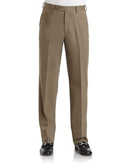 BLACK Saks Fifth Avenue - Neat Wool Pants