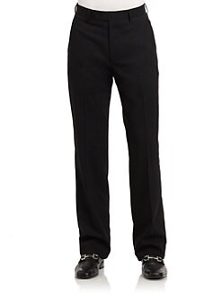 BLACK Saks Fifth Avenue - Classic Wool Trouser Pants