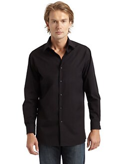 RED Saks Fifth Avenue - Trim Fit Button-Down Shirt
