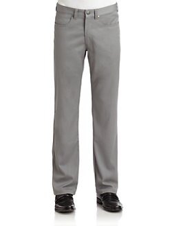 BLACK Saks Fifth Avenue - Five-Pocket Pants