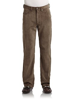 BLACK Saks Fifth Avenue - Corduroy Pants