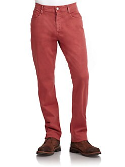 GRAY Saks Fifth Avenue - Straight Leg Chinos