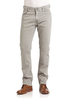 GRAY Saks Fifth Avenue - Straight Leg Chino