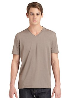 RED Saks Fifth Avenue - Raw Edge Tee