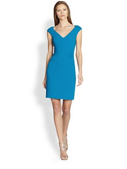 Emilio Pucci - Cap-Sleeve Sheath Dress