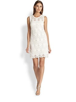 Emilio Pucci - Macrame Lace Tank Dress