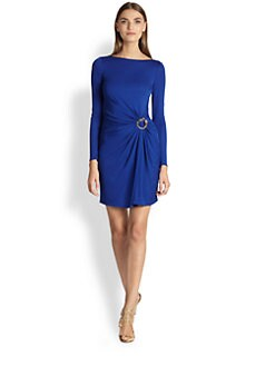 Emilio Pucci - Draped-Waist Jersey Dress