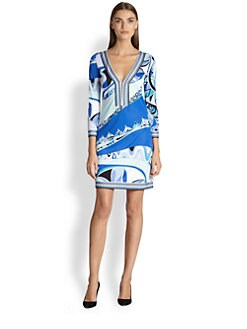 Emilio Pucci - Printed Jersey Tunic Dress