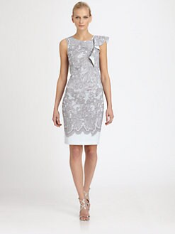 Emilio Pucci - Wool & Silk-Blend Lace-Print Dress