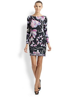 Emilio Pucci - Silk Butterfly Dress