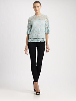 Emilio Pucci - Lace Top