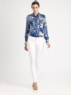Emilio Pucci - Printed Silk Shirt