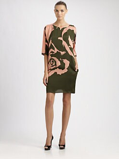 Emilio Pucci - Floral Silk Dress
