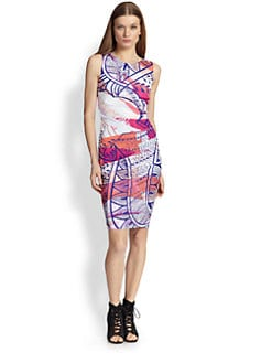 Emilio Pucci - Printed Sheath Dress