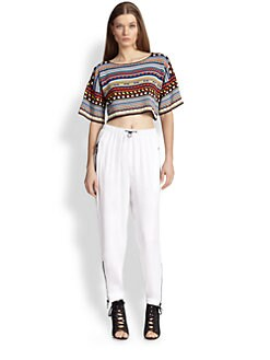 Emilio Pucci - Cropped Knit Top
